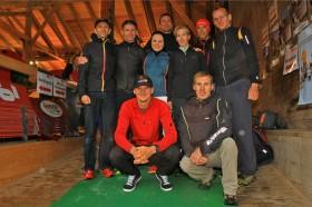Das Sportsalpen Trailrunning Team beim Karwendelmarsch