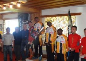 Salomon Running Tour in Kitzbühel - Siegerehrung der Herren