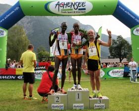 Die Sieger des Achenseelauf 2011