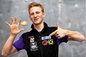 Jakob Schubert Kletter-Weltcup-Sieger