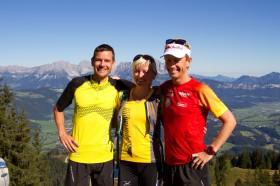 Bea Bauer läuft Tour de Tirol