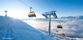 Schneesicherheit im Skigebiet Hochzeiger im Pitztal