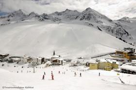 Schneesicheres Skigebiet Kühtai