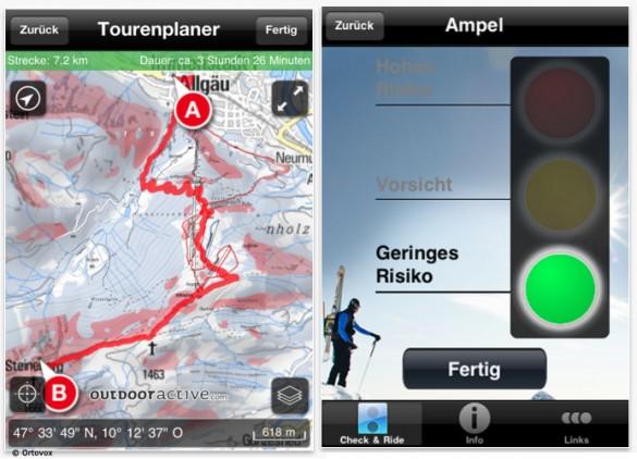Nützliche Apps: Ortovox App