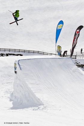 Freeski Open in Vans Penken Park in Mayrhofen