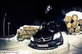 Nightshow bei den Freeski Open in Mayrhofen