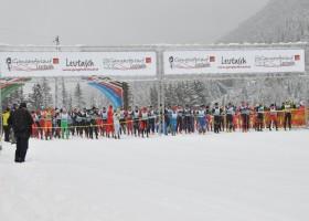 Start des Ganghoferlauf in Seefeld in Tirol