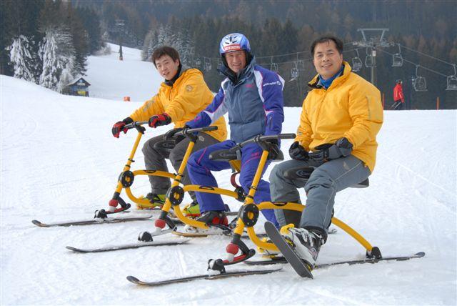 snowbike-test