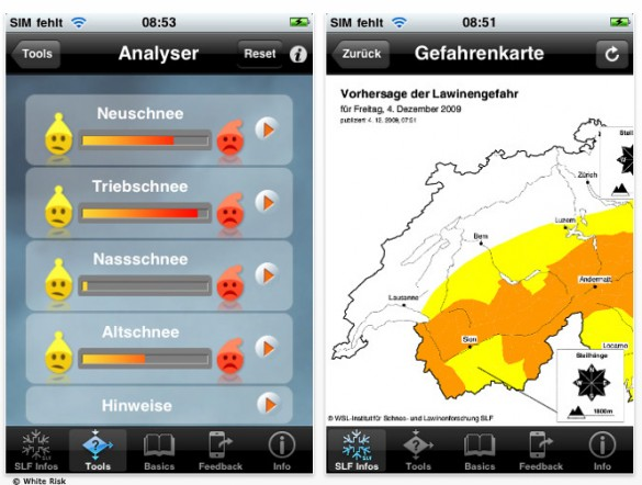 Nützliche Apps: White Risk
