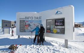 Die Info Base fürs Freeriden am Kitzsteinhorn