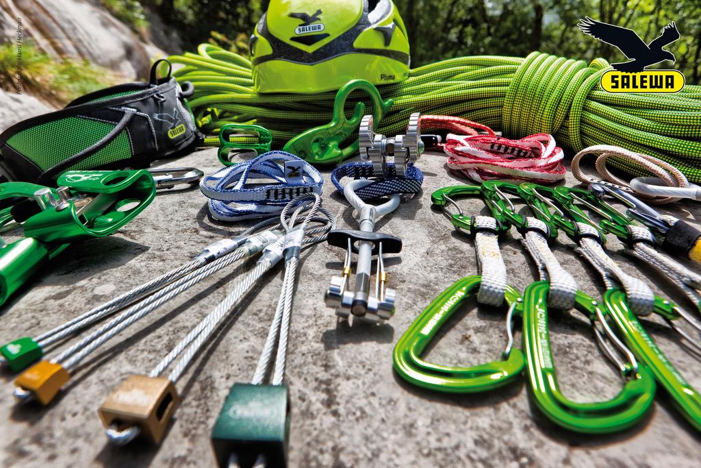 Kletterausrüstung : Innovative kletterausrüstung von salewa und wild country