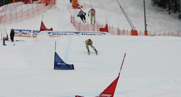 Skicross Weltcup in Bischofswiesen 2012
