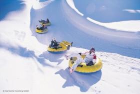 Snowtubing im Skigebiet Nassfeld