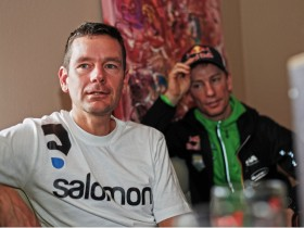 Jonathan Wyatt und Markus Kröll