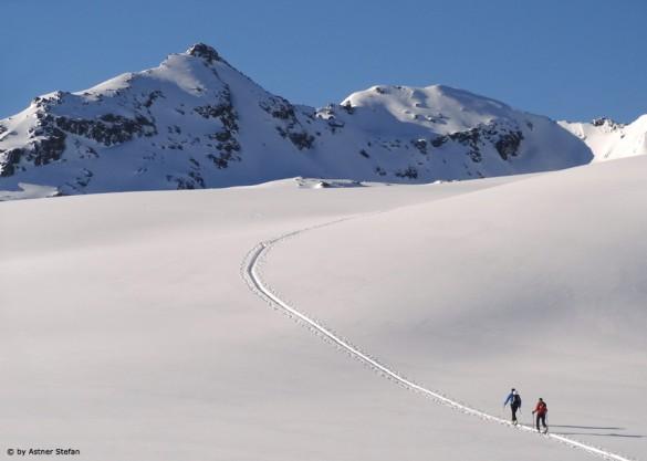 Skitour auf den Salzachgeier in den Kitzbüheler Alpen in Tirol