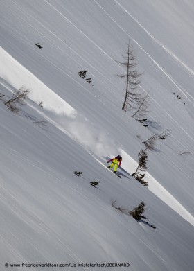 Freeride World Tour Fieberbrunn 2012