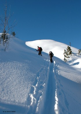 Skitouren in den Kitzbüheler Alpen in Tirol