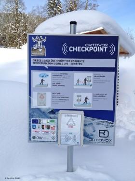 LVS Checkpoints für die Skitouren in den Kitzbüheler Alpen in Tirol