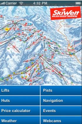 SkiWelt App