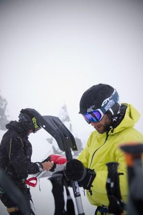 Verschüttetensuch-Training in Tirol