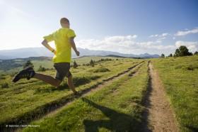Cross Trail folgt den gepflegten Wegen