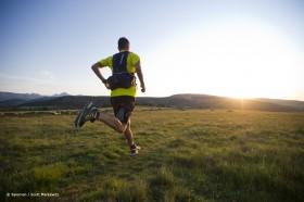 Trail Running über Wiesen
