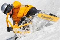 snowbike-downhill