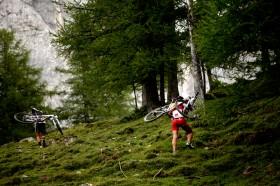 Alpine Biking beim Mountain Triathlon