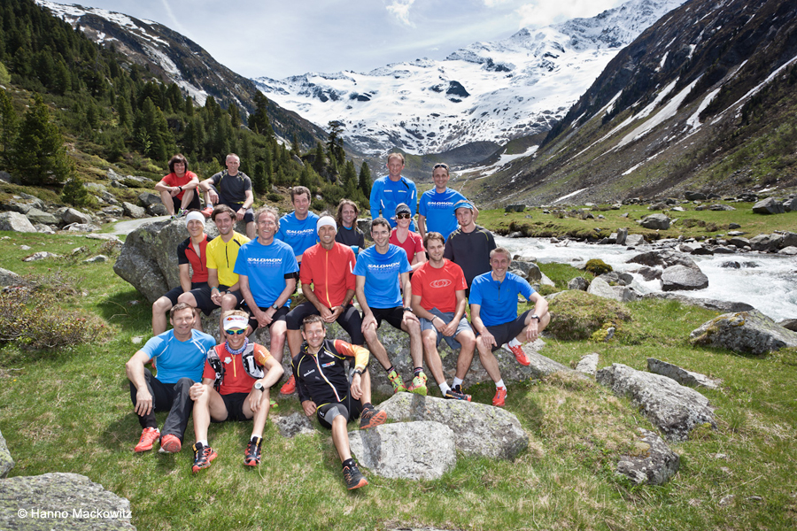 Salomon Trail Running Seminar in Krimml