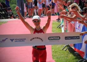 Die glückliche Siegerin - Michaela Herlbauer