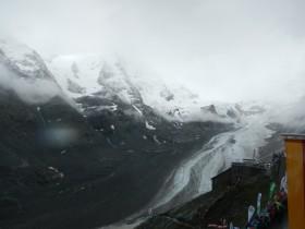 Schnee beim Grossglockner Berglauf