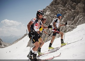 Die 3 Österreicher kurz vor dem Ziel