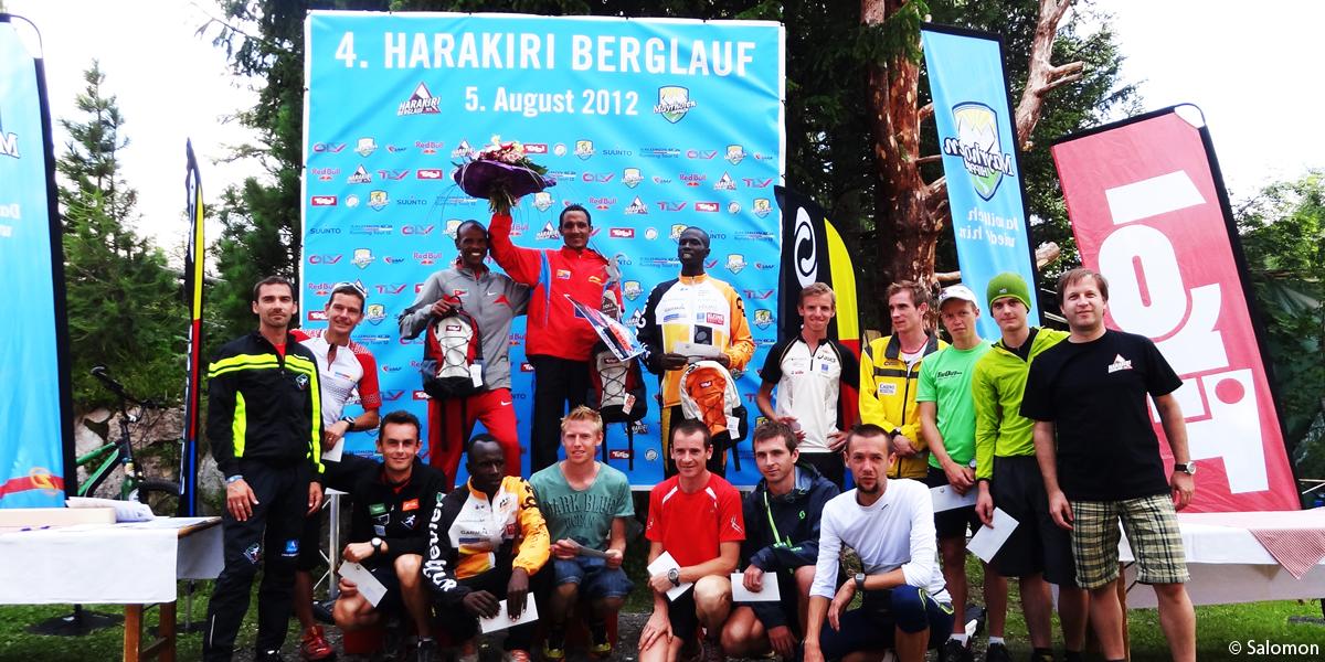 Harakiri-Berglauf-Sieger