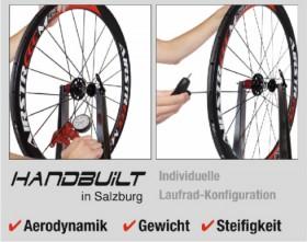 Triathlon und Rennrad Laufräder handgefertigt