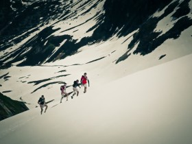 Mont Blanc als location für Salomon Running TV