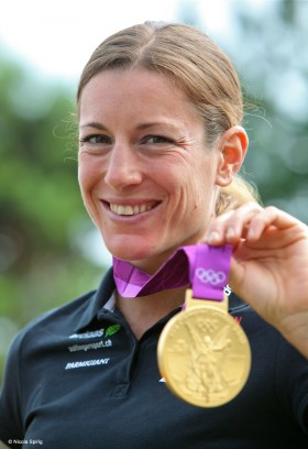 Olympiasiegering Nicola Spirig