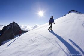 Hochtour in den Alpen des Ötztals