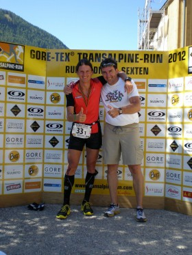 Gefinisht - Transalpine Run 2012