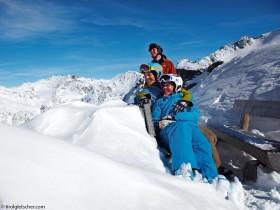 relaxen Kaunertal Gletscher