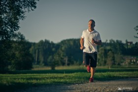 Gerhard Budy trainiert