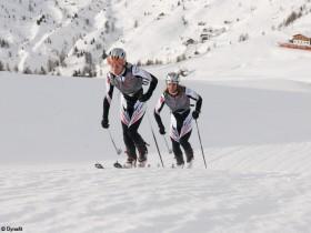 Italien Sellaronda Skimarathon
