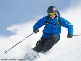 Skisaison Skischuh