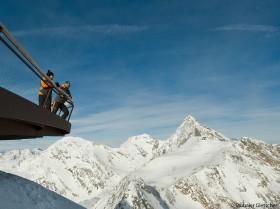 Ausblick Stubaier Gletscher