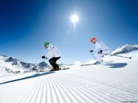 Skifahren Stubaier Gletscher