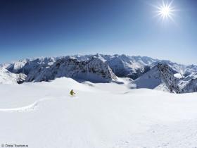 Freeriden Alpen Tirol