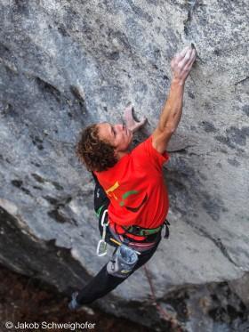 Schwierigkeitsgrad 9 Kletterroute