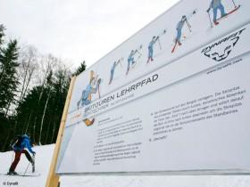 Dynafit Skitouren Lehrpfad