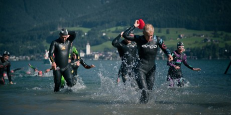 Cross Triathlon EM Schwimmen