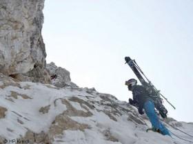David Lama Abstieg