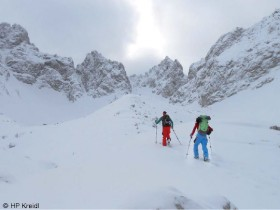 David Lama auf Skitour
